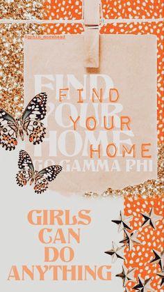 Alpha Xi Delta, Gamma Phi Beta, Spring Recruitment, Go Greek, Sorority Life, Cob, Dorm Room, Diys, Photo Wall