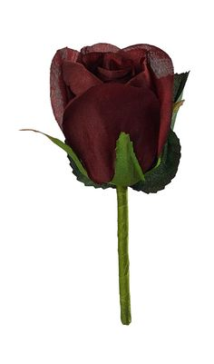 Burgundy Silk Rose Boutonniere -- You can get more details by clicking on the image.