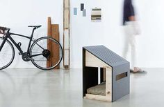Image 7 of 8 from gallery of Minimalist, Enviable Snap-Together Dog Houses from Bad Marlon. Image © BAD MARLON via Dog Milk