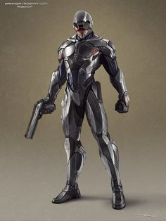Robocop Reimagined by *ProlificPen