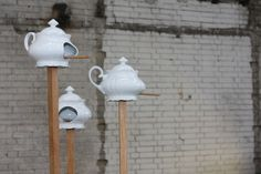DIY Birdhouses from teapots and more!