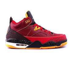 Jordan Son Of Mars Low–Team Red-Black-University Gold