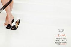 How to make a wedding website using Blogger :)