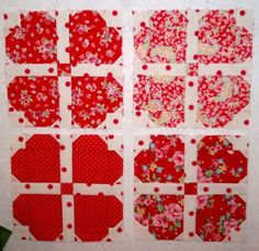 ~ Heart Quilt ~ Tutorial....