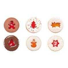 Foremki do wykrawania kruchych ciastek bożonarodzeniowych - komplet 8 szt | TESCOMA DELICIA
