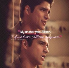 "Teen Wolf  3x13  ""Anchors"" - ""My anchor was Allison.."" Ms McCall: Then be you`re…"