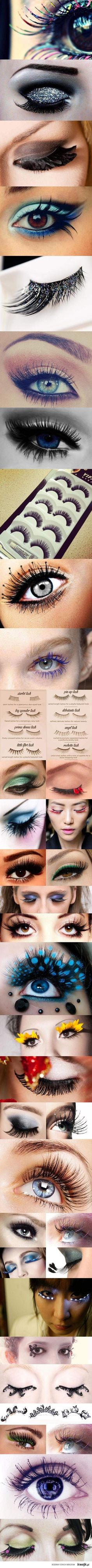 false lashes - Click image to find more Hair & Beauty Pinterest pins