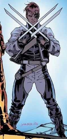 Shatterstar is one of the attempts to out Wolverine in the 1990s.