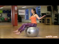 Comment faire des abdos presque sans efforts? - YouTube Muscle Fitness, Fitness Tips, Fitness Motivation, Exercices Swiss Ball, Video Sport, Posture Fix, Sport Craft, Gym Tops, Sports Wallpapers