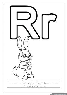 letter r coloring page.html