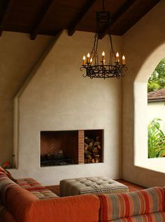 fireplace is kind of what I have in mind