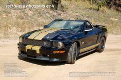 2007 Shelby Mustang Gt-H Convertible Photo Mug Gourmet Tea Gift Basket