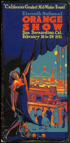 11th National Orange Show, San Bernardino, California, 1921.