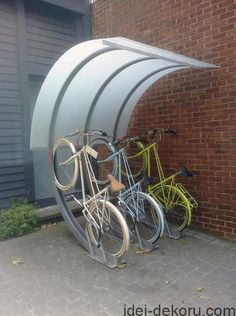 Garage Bike Storage Ideas Indoor Bike Storage Ideas Truck Bed Bike Storage I -. Outdoor Bicycle Storage, Bicycle Storage Shed, Bicycle Rack, Bike Shed, Boat Storage, Bike Storage Solutions, Storage Ideas, Storage Boxes, Storage Baskets