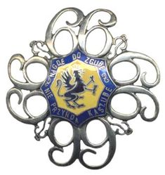 66 Kaszubski Pułk Piechoty im. Retro, Civilization, Decorative Plates, Military, Polish, War, Vitreous Enamel, Retro Illustration, Nail