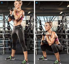 Se non squatti, difficilmente migliorerai il tuo lato B. Il goblet squat con peso è uno di quegli esercizi a cui dovresti dare una chance.