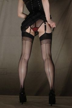 """theteasingteacher: """"Black seamed stockings http://www.pinterest.com/pin/285415695109877563/ """" Re-blogs and original posts exploring the kinks lurking in The Hidden Recesses of My Mind This blog is..."""