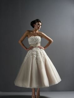 I love wedding dresses
