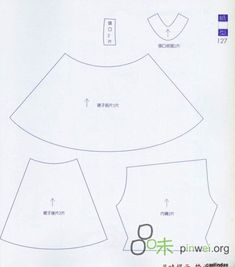 Выкройки кукол   VK Doll Patterns, Sewing Patterns, Doll Clothes, Internet, Mini, Tela, Fabric Dolls, Patterns, Embroidery