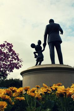 Walt Disney: Look, Mickey. Everything the light touches is our kingdom.  Mickey: Wow! Walt Disney: A king's time as ruler rises and falls like the sun. One day, Mickey, the sun will set on my time here and will rise with you as the new king.