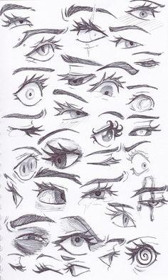 Eye Drawing Tutorials, Body Drawing Tutorial, Drawing Reference Poses, Drawing Poses, Hair Reference, Art Drawings Sketches Simple, Drawings Of Girls, Indie Drawings, Eye Drawings