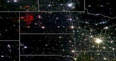 North Dakota's Bakken Shale Boom Is Visible From Space #p2