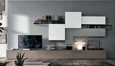 61 Ideas For Living Room Tv Wall Design Television Living Room Wall Units, Ikea Living Room, Living Room Furniture, Living Room Designs, Tv Wall Furniture, Leather Furniture, Furniture Online, Furniture Stores, Cheap Furniture