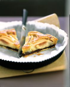 Préchauffez votre four Th.7/8 (220°C). Dans un saladier, mélangez le beurre mou, la poudre d'amandes et le sucre jusqu'à l'obtention d'un mélange lisse. Ajoutez les 2 œufs préalablement battus et mélangez bien. Déroulez la pâte dans un moule à tarte en conservant la feuille de cuisson. Lavez et pelez les poires. Coupez-les en deux et épépinez-les. Faites fondre le chocolat au bain-marie puis nappez le fond de tarte. Versez la préparation à l'amande dessus et disposez les poires.