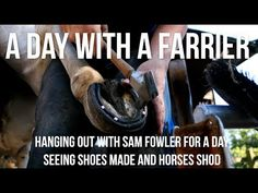 Seeing Sam Fowler, a great friend and farrier shoe horses for a day in the glorious British summer sunshine! LEARN: http://beginblacksmithing.com/ BUY TOOLS:...