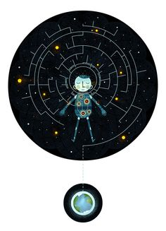 Creative Cartoon Styled Illustrations by Scott Benson