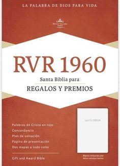 Spanish - RVR 1960 Gift And Award Bible-White Imitation Leather (Biblia Para Regalos Y Premios)