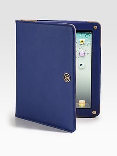 Tory Burch  Robinson Saffiano Leather Tablet Case