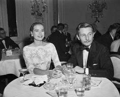 Oleg Cassini and Grace Kelly