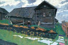 В. Ф. Стожаров. Дом Энафы Тереховой. 1971. К.М.