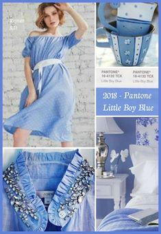 '' Pantone 2018- Little Boy Blue ''  by Reyhan S.D.