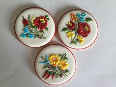 - Kalocsai Pattern Cookies by Gulnaz Fancy Cookies, Iced Cookies, Cute Cookies, Easter Cookies, Birthday Cookies, Cupcake Cookies, Sugar Cookies, Christmas Cookies, Cookie Icing