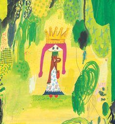 Ryoji Arai 《ルフラン ルフラン》 ©2005 荒井良二/KING OF MOUNTAIN ©2005 Petit Grand Publishing,Inc.