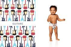 Honest Diapers in Guitars #Spring2015 #effective #ecofriendly