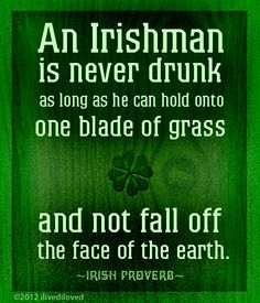 Irish proverb - I have this on a tea towel that was my late parents'