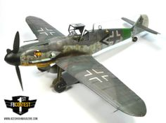 Messerschmitt Bf 109 G-6 Kit: Revell 1/32 Modeller: Marek Nováček