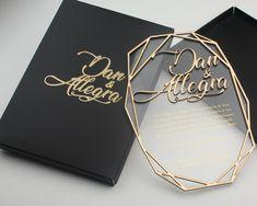 Box Invitations, Acrylic Wedding Invitations, Luxury Wedding Invitations, Wedding Invitation Cards, Wedding Cards, Luxury Wedding Decor, Beautiful Wedding Invitations, Dream Wedding, Wedding Day