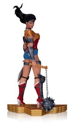wonder woman artwork   This Wonder Woman Art of War by Tony Daniel Statue looks fantastic ...