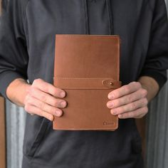 The Inventor Fine Leather Journal is handmade right here in our shop with the finest of Full Grain American leathers.