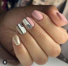 Love Nails, Fun Nails, Pretty Nail Art, Manicure And Pedicure, Pedicures, Gel Nail Art, Stylish Nails, Perfect Nails, Beauty Nails