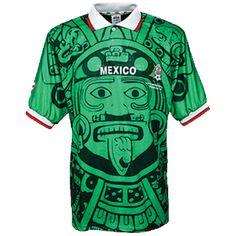 4e306b1ae36 1998 Mexico home shirt – beautiful 90s Mexico Soccer Shirt