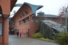 Finland, Scandinavian, Brick, Building, Shops, Travel, Design, Tents, Viajes