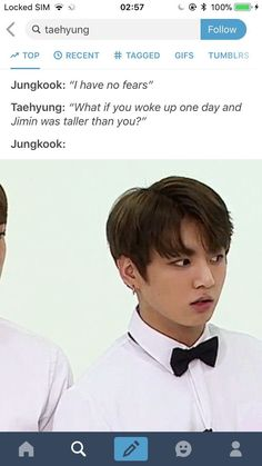 oh my gosh!!! That's so funny.... I just Imagined kookie looking up at jiminie's face...