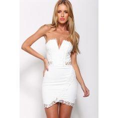 Alluring Dress White