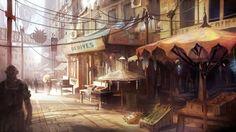 ArtStation - Neo Paris, Bruno Gentile aka Hydropix