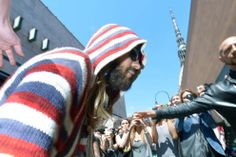 Thirty Seconds To Mars.- Jared Leto arriving at Turin, Italy.- 19-06-2014